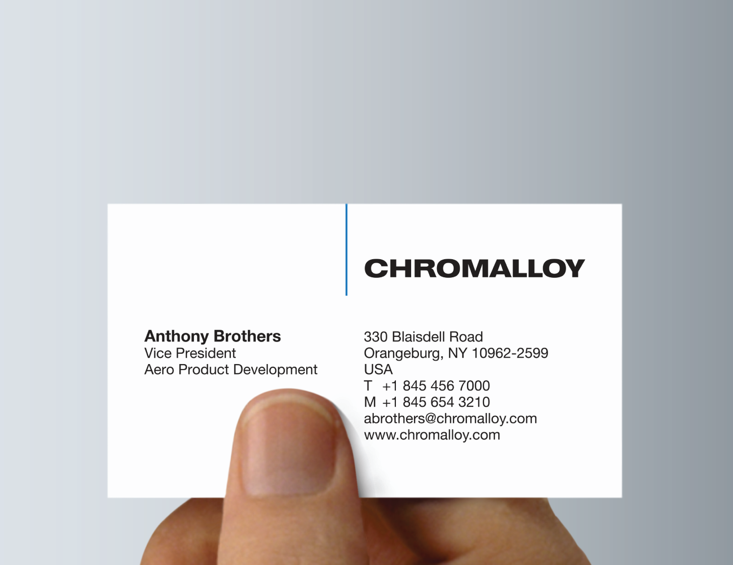chromalloy logo example