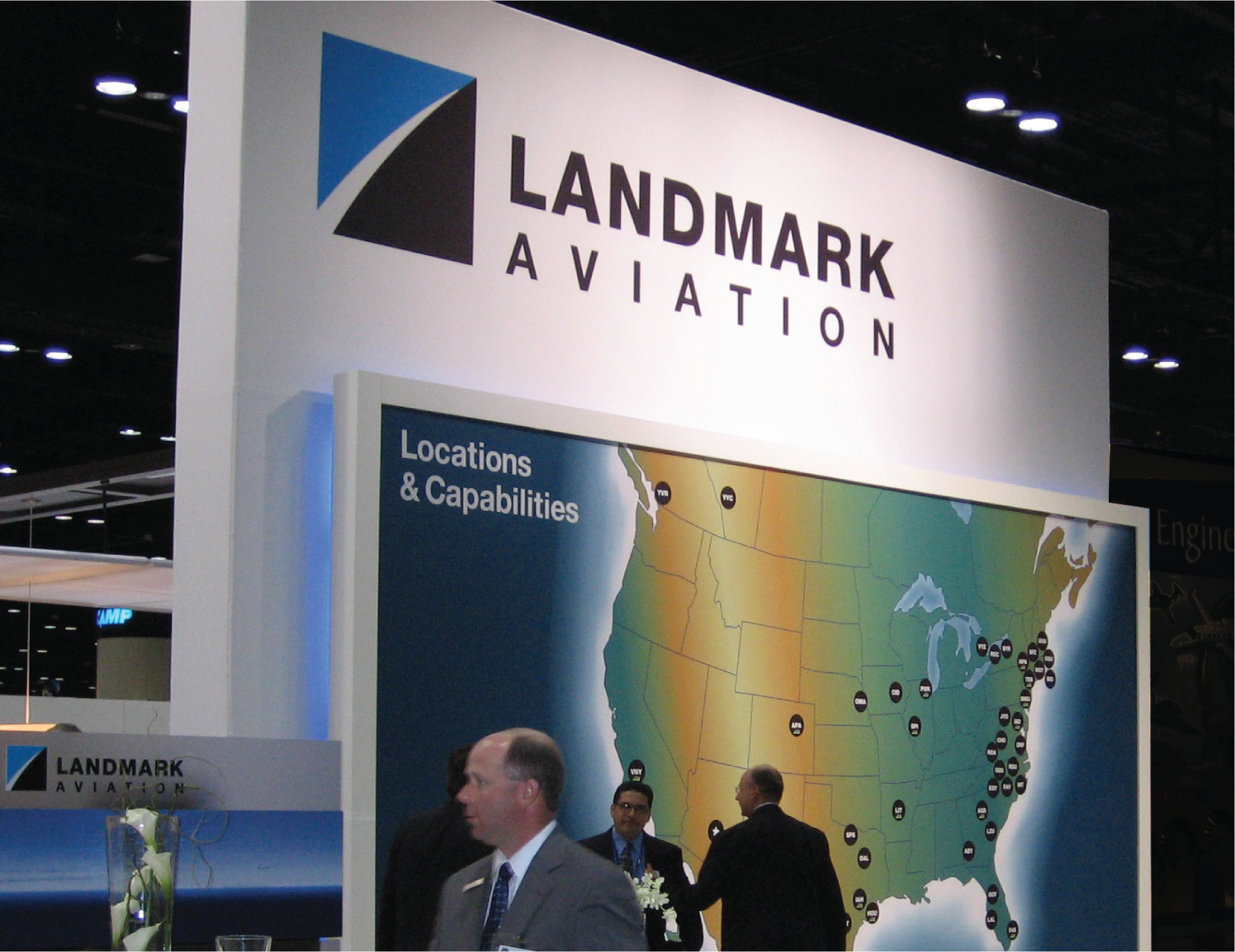 landmark aviation logo example