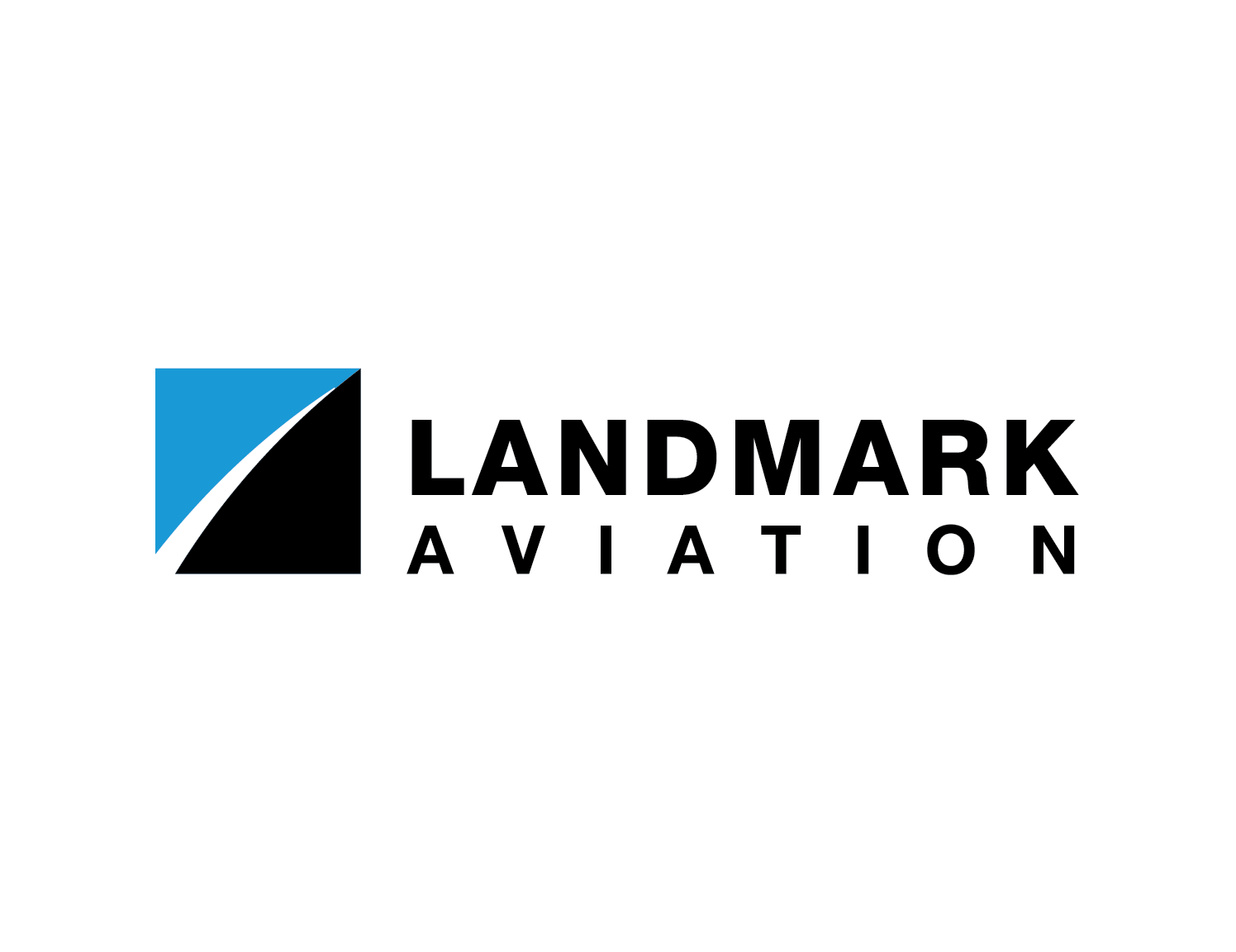 landmark aviation logo