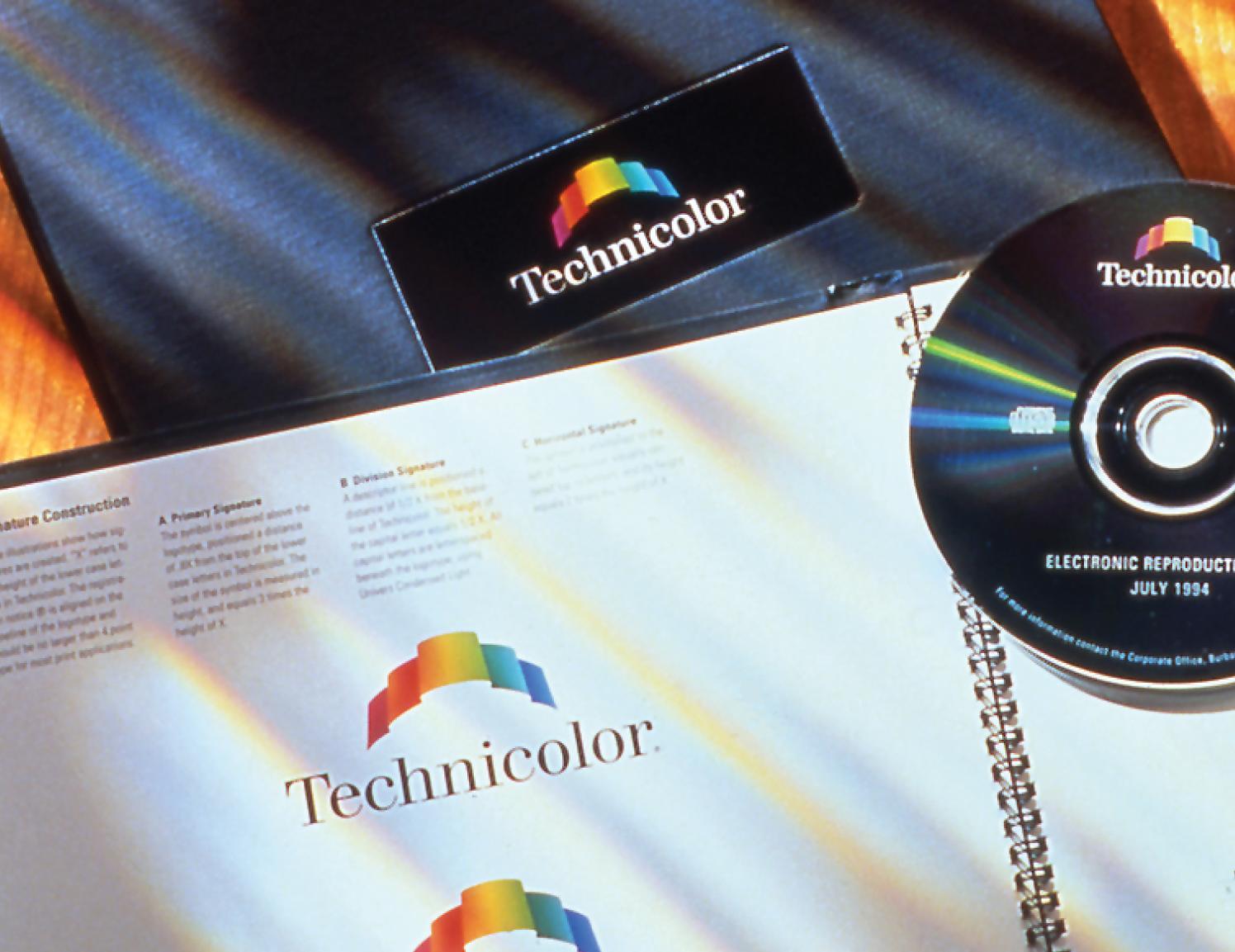 technicolor logo example