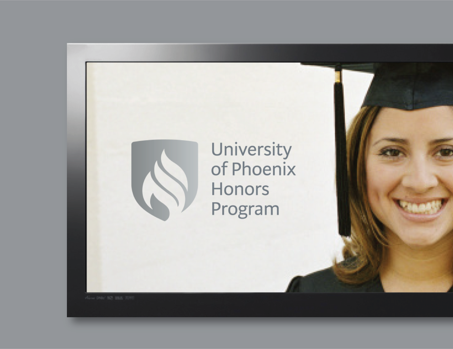 university of phoenix honors program logo example