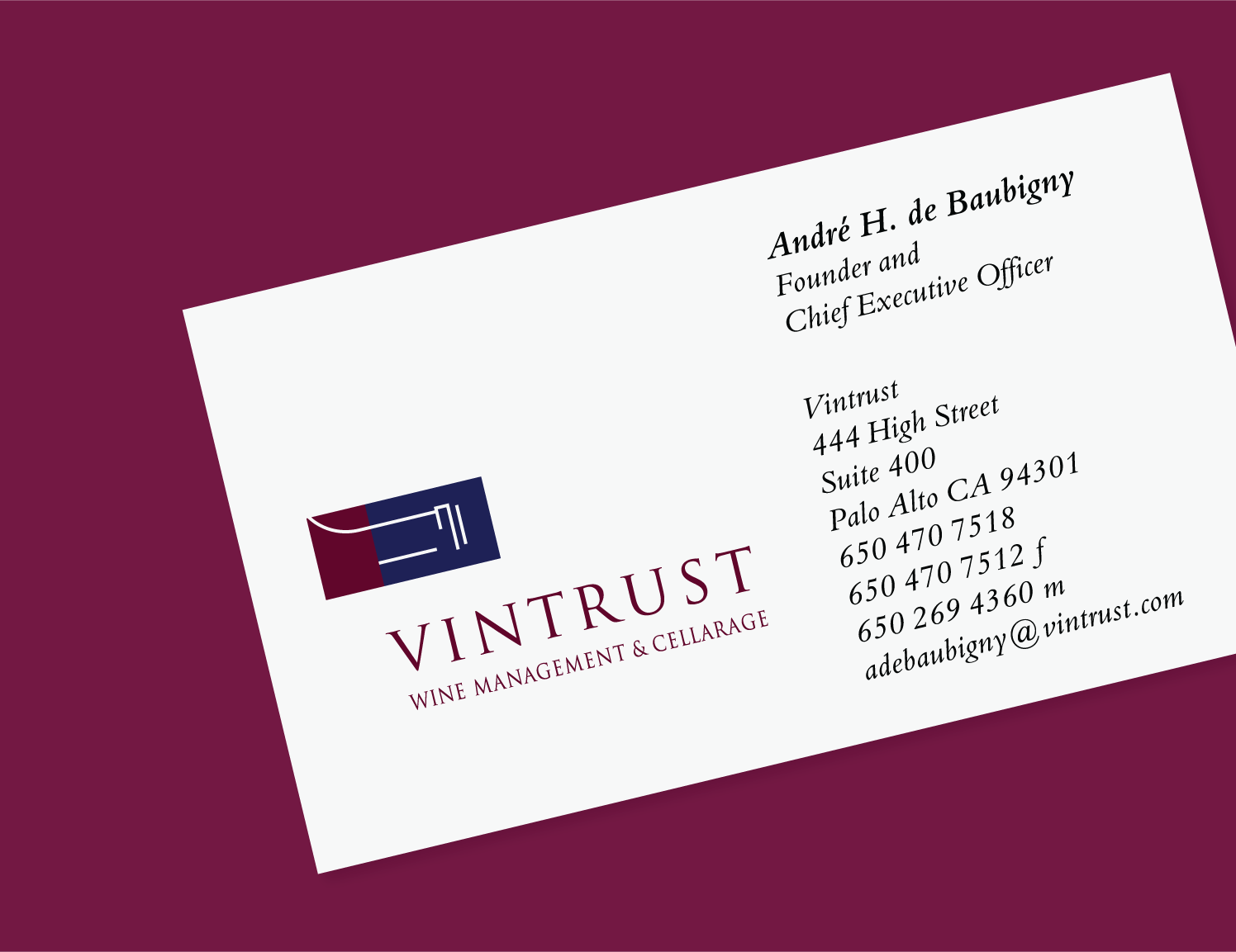 vintrust logo example
