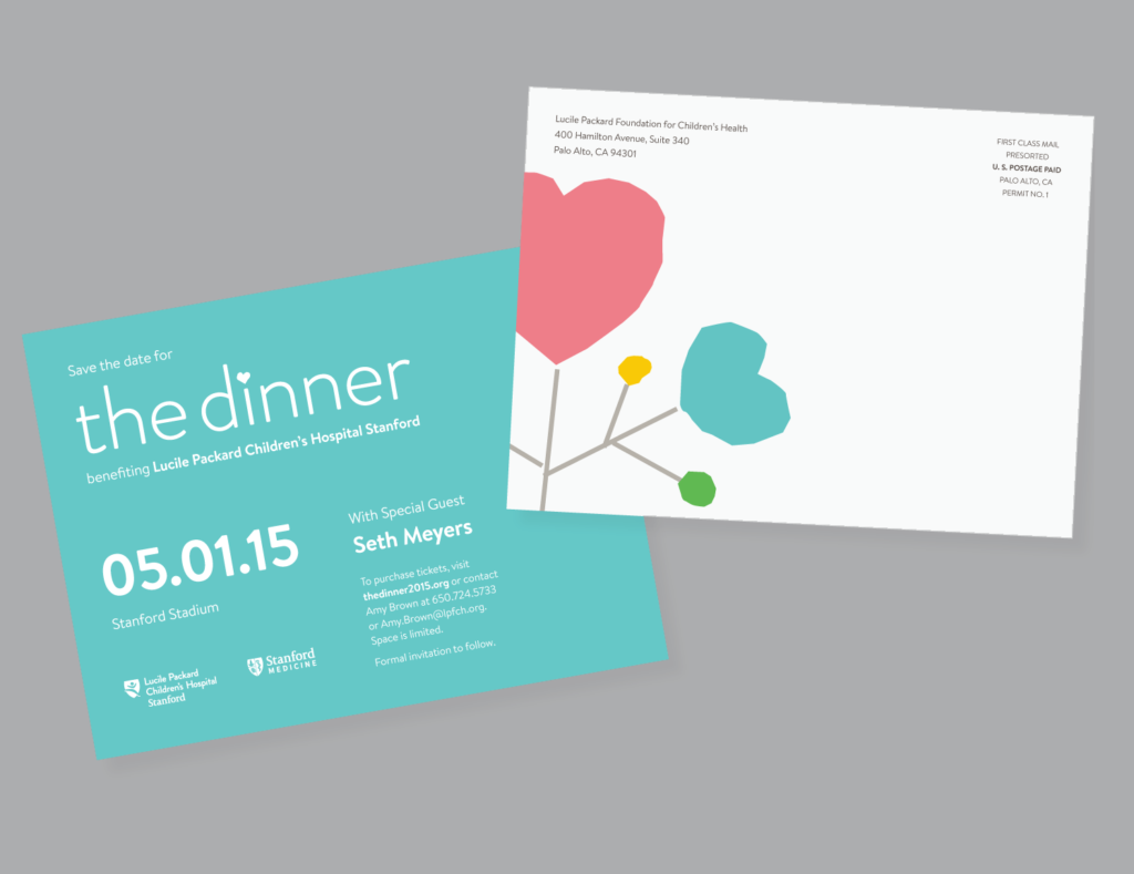 The Dinner 2015, Lucile Packard Foundation for Children's Health